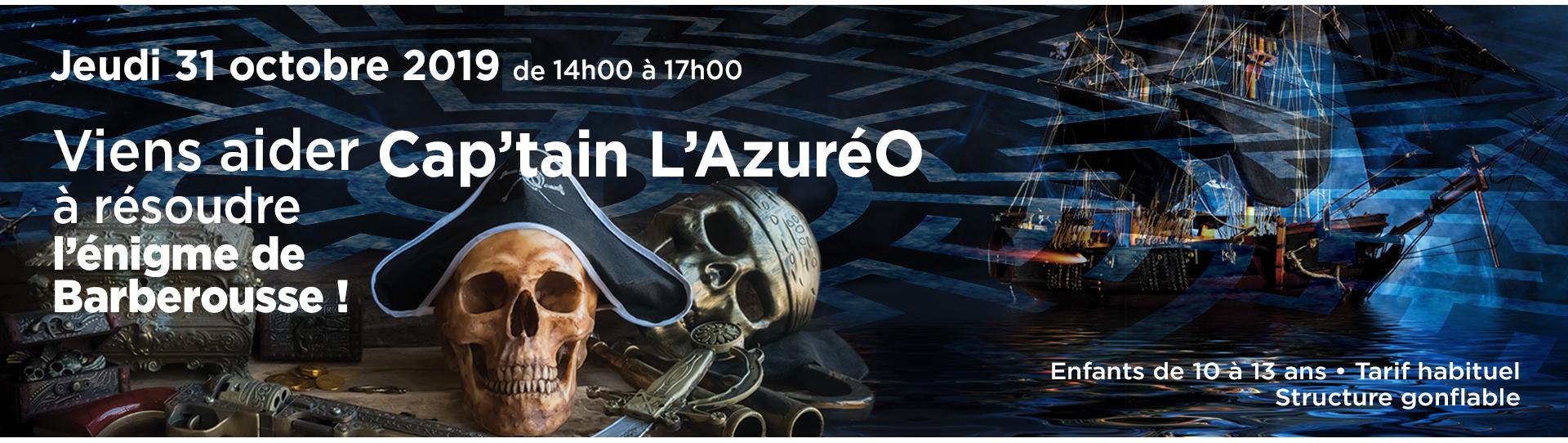 Viens aider Cap'tain L'Azuréo